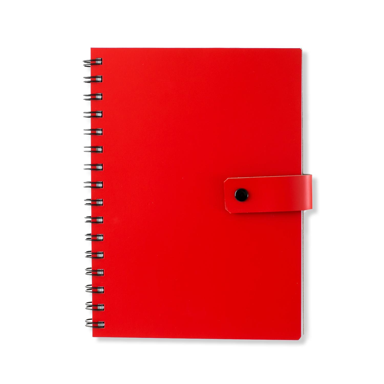 芬兰原产PRIVATE CASE 按扣笔记本记事本日记本文具办公 红色 A5
