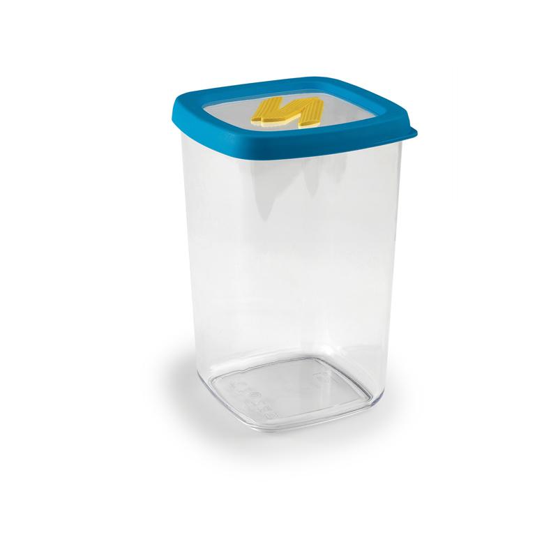 意大利原产snips 通心粉意面储存盒保鲜盒 1.5L 深蓝