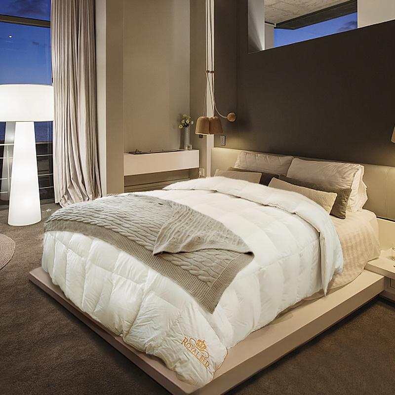 德国原产OBBRoyalBed加拿大95.2%鹅绒被Bodensee博登系列 白色 230*240cm(适用于2.0m的床)