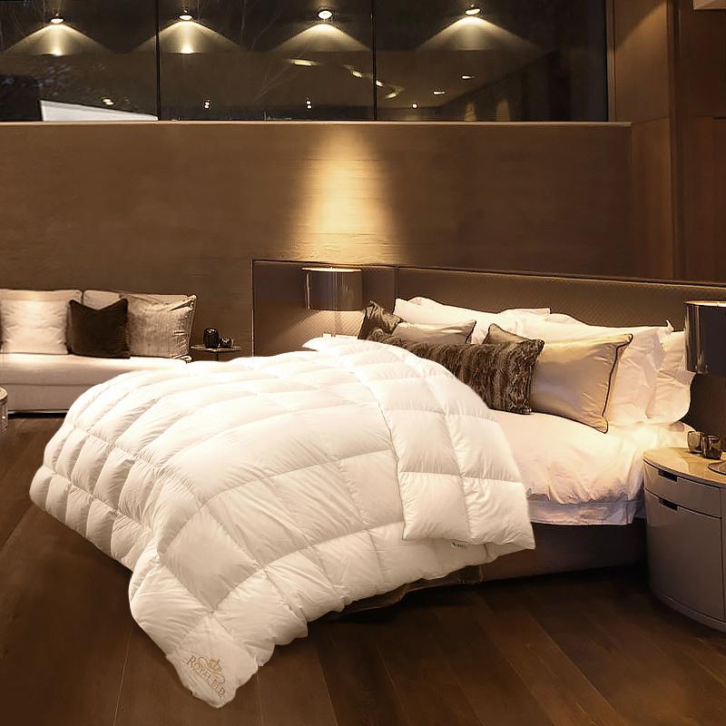 德国原产OBB Royal Bed西伯利亚97.88%雪鹅绒被 国王系列 白色 230*240cm(适用于2.0m的床)