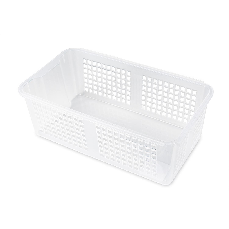 韩国silicook厨房冰箱收纳篮收纳筐篮子 白色 L