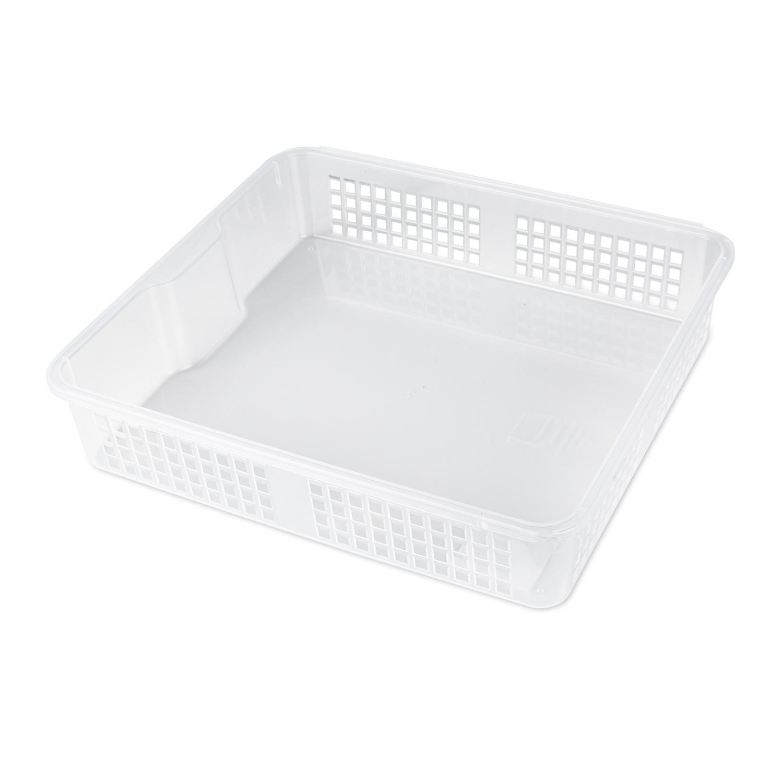 韩国silicook厨房冰箱收纳篮收纳筐篮子 白色 XL