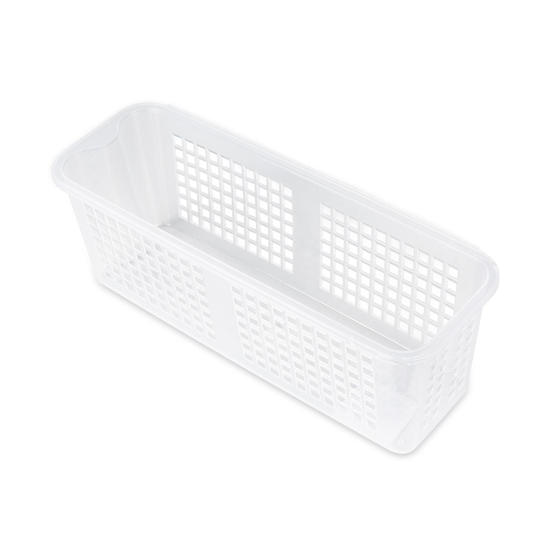 韩国silicook厨房冰箱收纳篮收纳筐篮子 白色 S