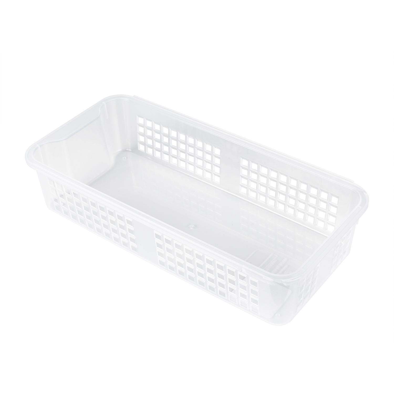 韩国silicook厨房冰箱收纳篮收纳筐篮子 白色 M