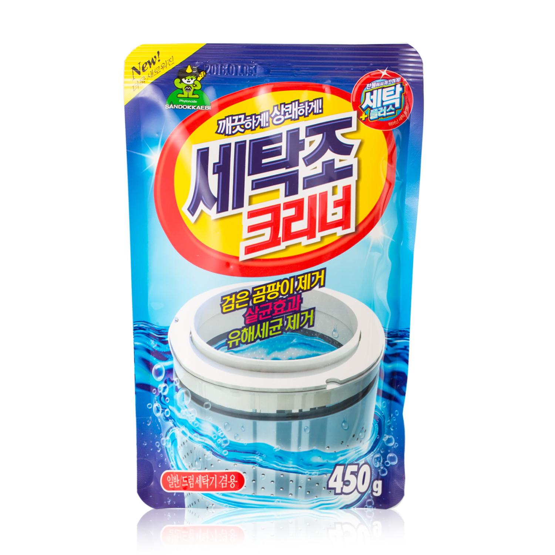 韩国原产Sandokkaebi山小怪植物萃取洗衣机机槽清洁剂