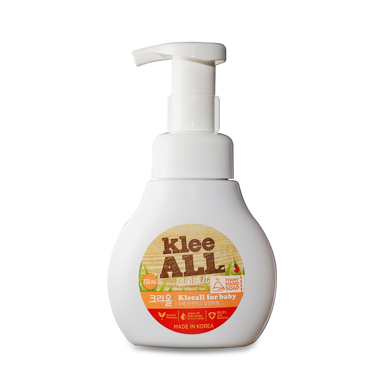 韩国原产Klee ALL婴幼儿用泡沫洗手液 混色