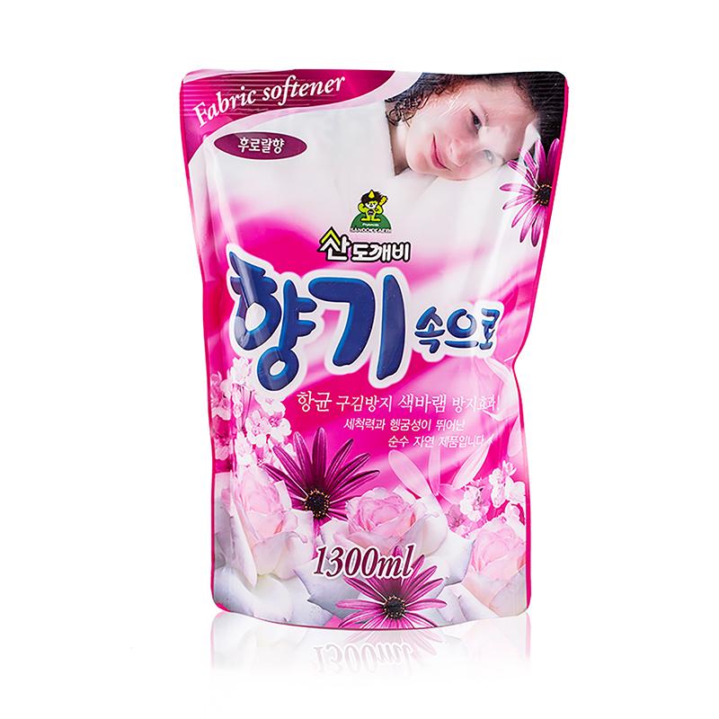 韩国原产Sandokkaebi山小怪衣物柔顺剂蜜桃香 蜜桃香