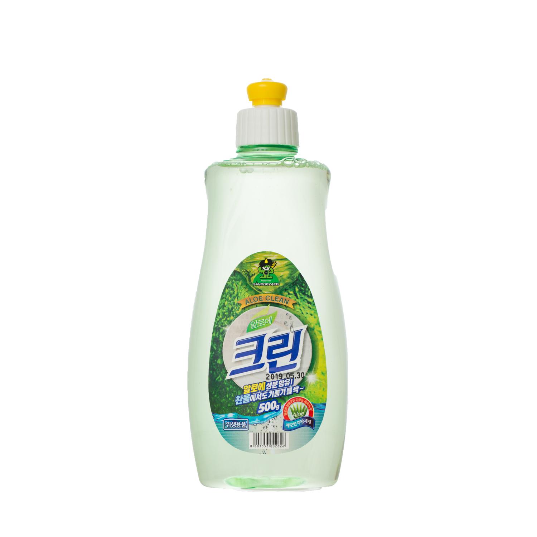 韩国原产Sandokkaebi山小怪餐洗净洗洁精500G 绿色