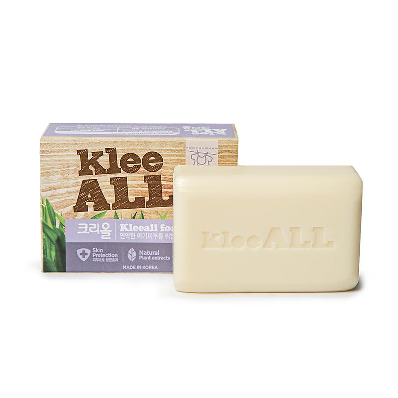 韩国原产Klee ALL婴幼儿用洁面香皂洗衣清洁皂 混色