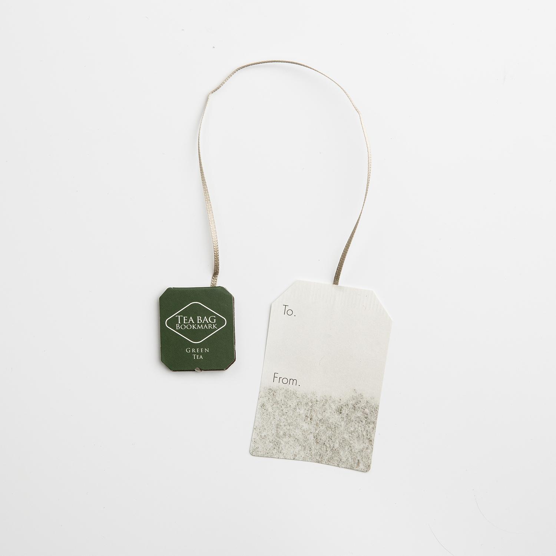 韩国原产MARSMERS 创意书签茶包系列(3支装) 绿色