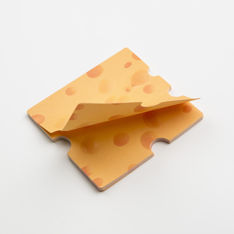 韩国原产MARSMERS 创意便利贴  英国切达奶酪系列 奶酪色