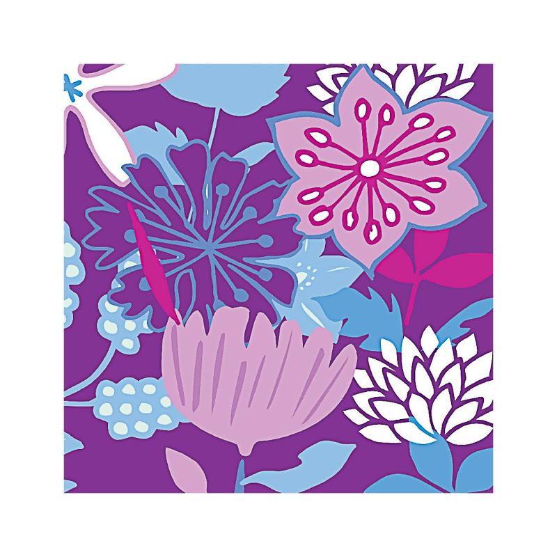 英国原产IONA奇异花图案商务祝福礼物卡片贺卡明信片 彩色