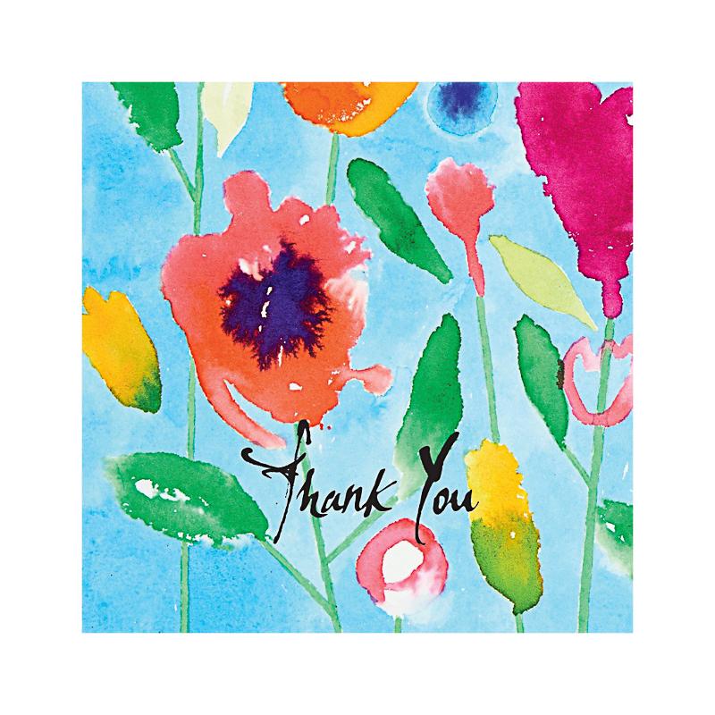 英国原产IONA水印花水墨画图商务祝福贺卡明信片-2 彩色