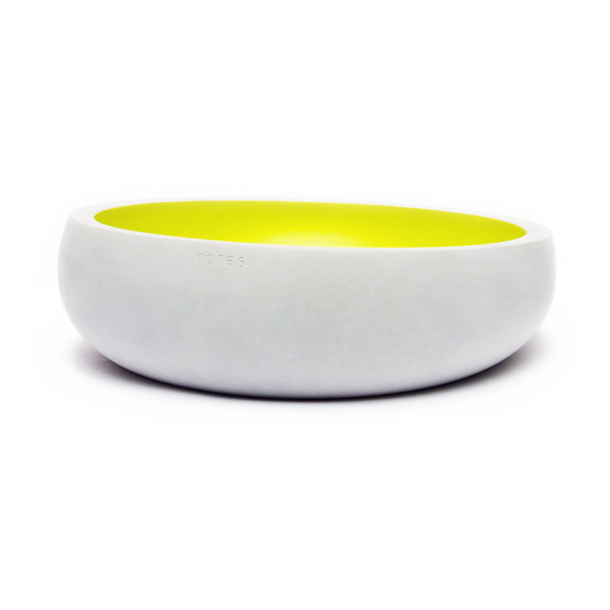 法国原产gone's 矿物大号装饰烛台摆件 1个装 黄色
