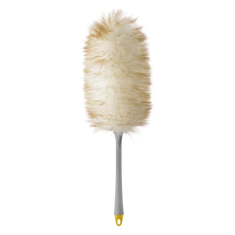 意大利原产APEX羊毛掸子除尘清洁掸子 55cm 混色