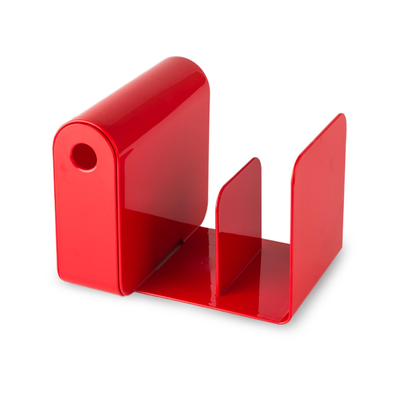 韩国原产aplum 书架笔筒二合一多功能书架书立 红色