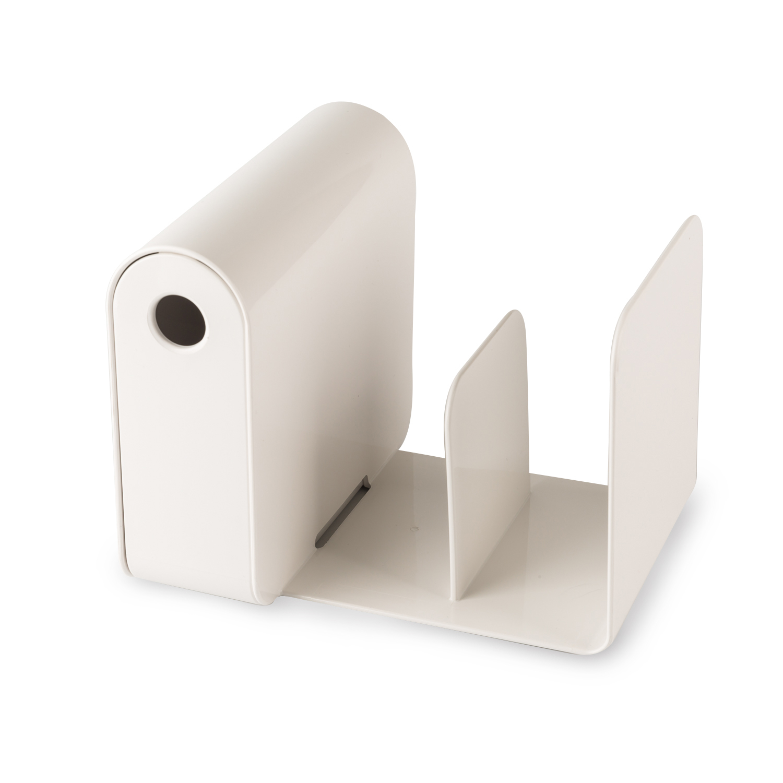 韩国原产aplum 书架笔筒二合一多功能书架书立 白色