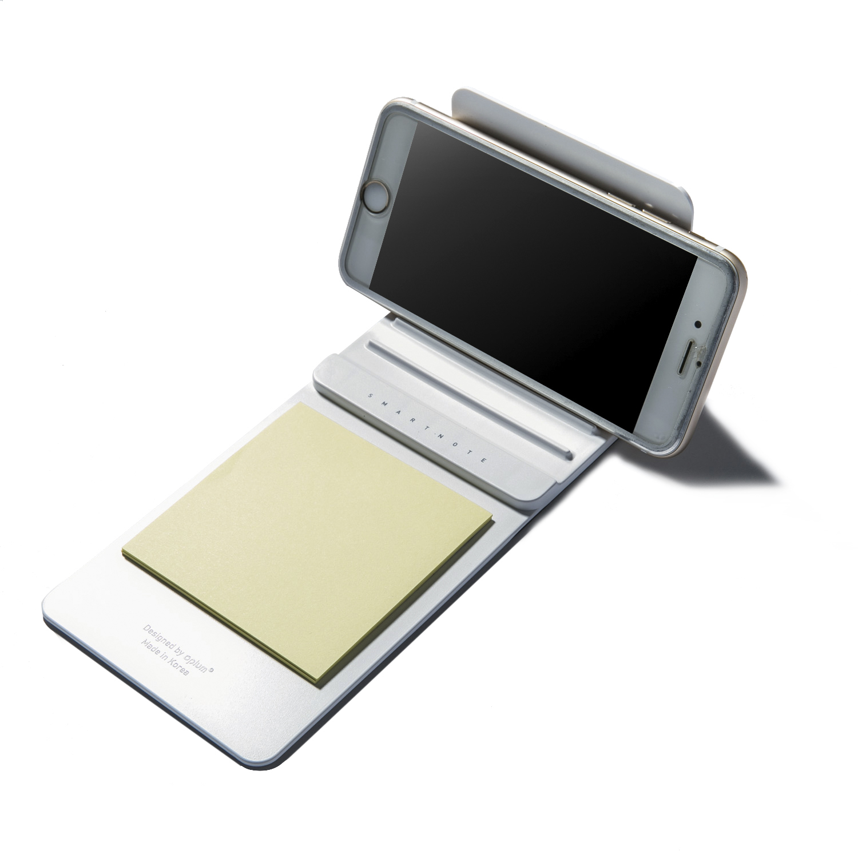 韩国原产aplum 便携式 多功能 智能手机支架 白色