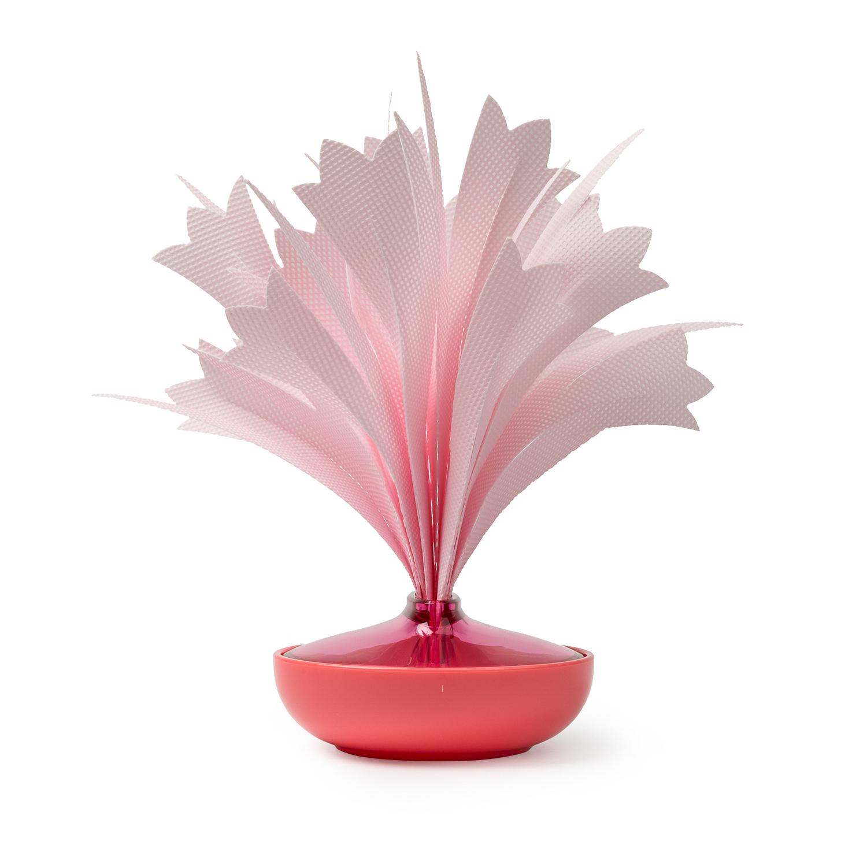 日本原产mikuni不插电便携式加湿器花束形加湿器 粉红