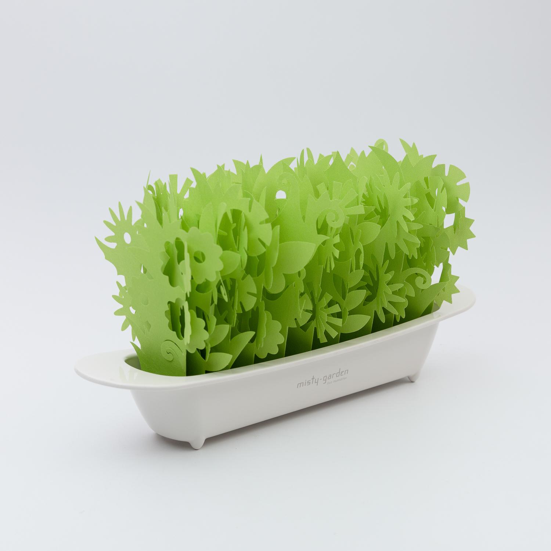 日本原產mikuni不插電便攜式加濕器 綠色花園版 綠色