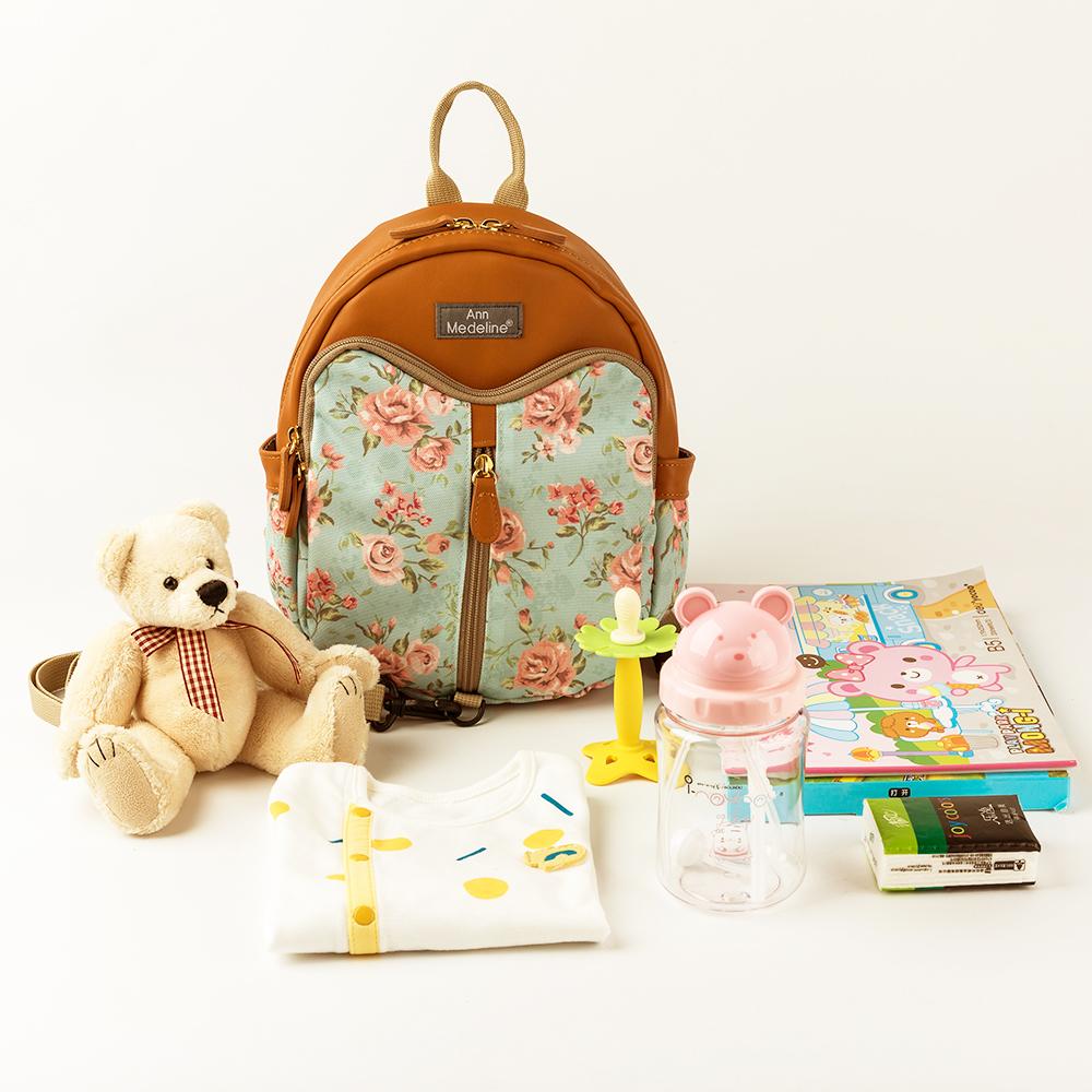 韩国原产Ann Medeline NFC 智能防走失包儿童背包外出包 花色