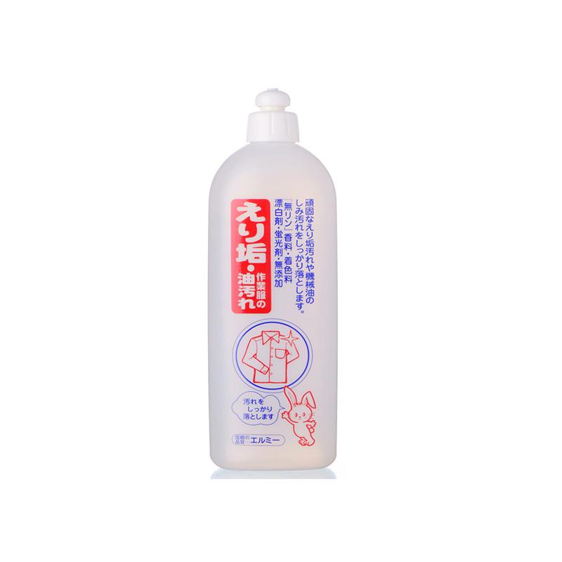 日本原產elmie惠留美領口汙垢洗滌劑領口汙漬清潔劑500ml 白色