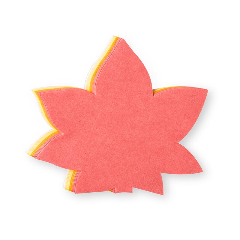 日本原产Ishikawa 美浓和纸蛋糕纸垫 枫叶 红色