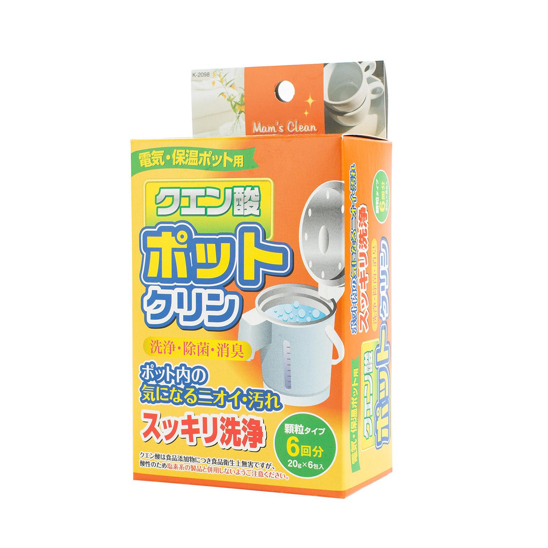 日本原产KOKUBO小久保电热水壶水垢清洁剂 20g*6包