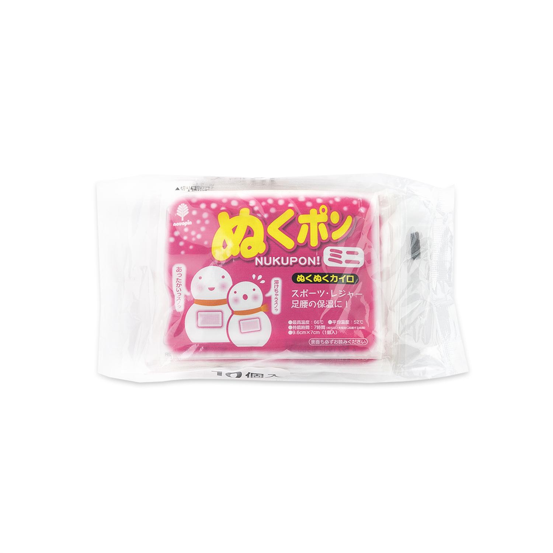 日本原产KOKUBO小久保迷你暖手贴暖贴(迷你10片装) 红色