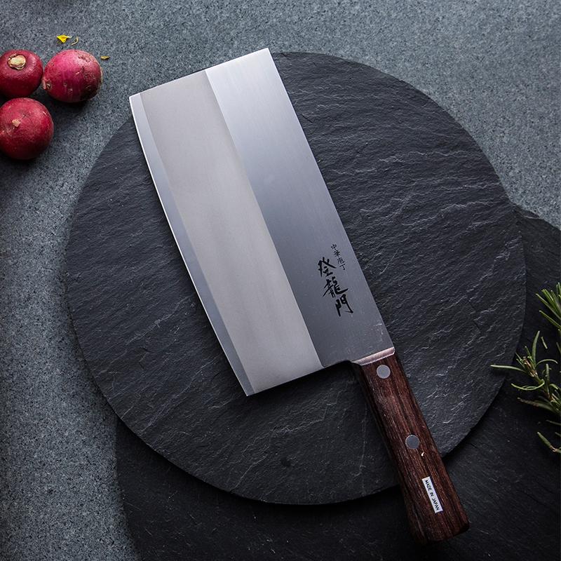 日本原产Tojiro藤次郎不锈钢富士登龙门菜刀厨刀切片刀FG-68 褐色