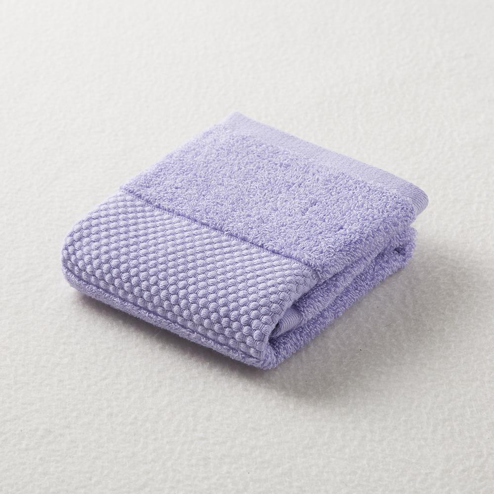 日本原产ORIM今治毛巾Plumage系列超柔棉质手巾擦手巾 蓝紫