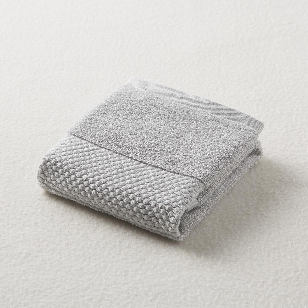 日本原产ORIM今治毛巾Plumage系列超柔棉质手巾擦手巾 中灰
