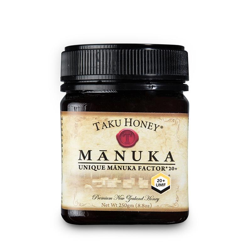 新西兰原产TAKU塔库麦卢卡蜂蜜UMF20+ 250g养胃养颜 棕色