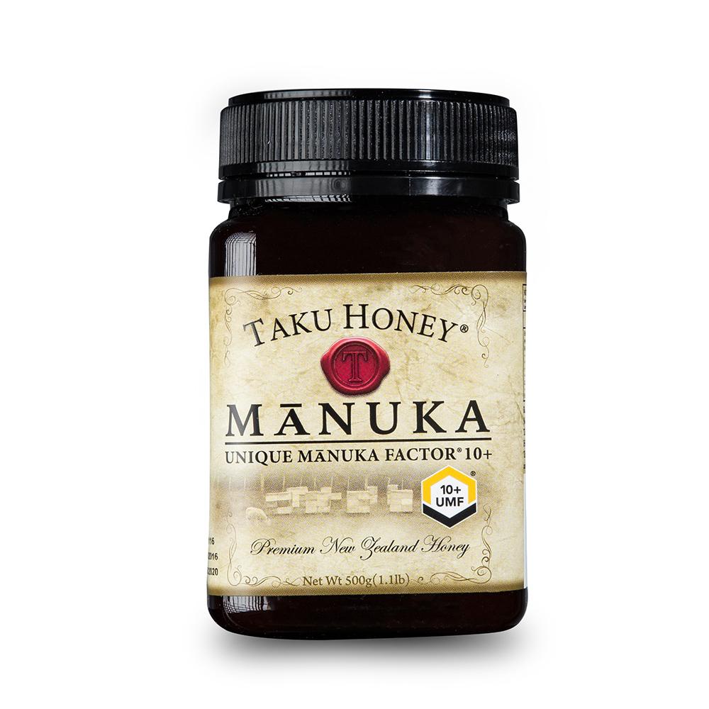 新西兰原产Taku塔库麦卢卡蜂蜜UMF10+500g养胃养颜 棕色 500g