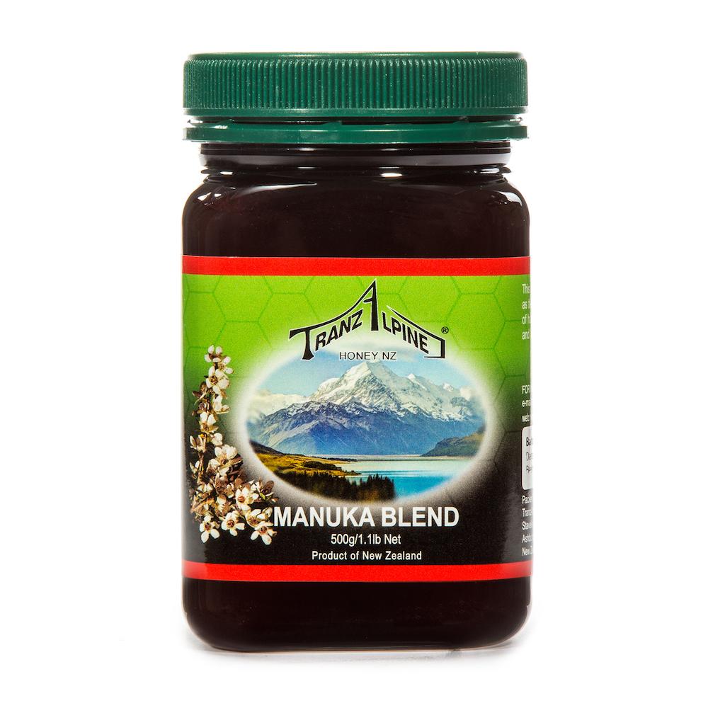 新西兰原产TRANZALPINE麦卢卡混合蜜MGO50+500g养胃养颜 棕色