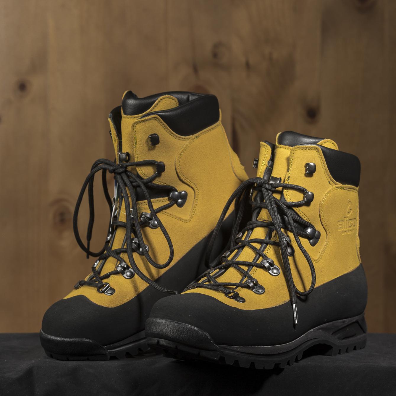 意大利Alico MONTANA 系列专业防水徒步耐磨防滑登山鞋 黄色 37
