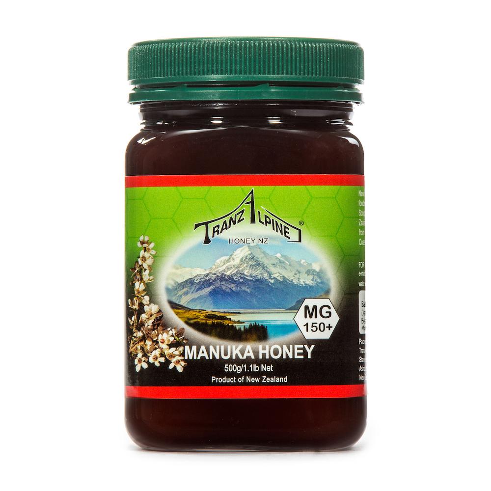 新西兰原产TRANZALPINE麦卢卡蜂蜜MGO150+UMF7+500g 棕色