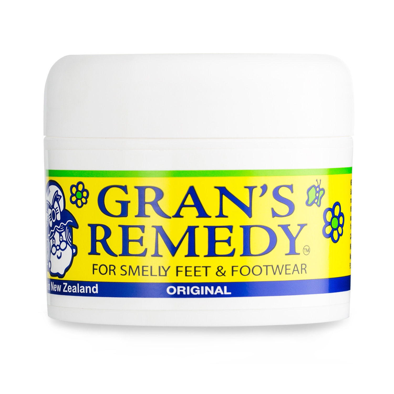 新西兰原产GRAN'S REMEDY 植物鞋粉除臭粉除味粉 无味