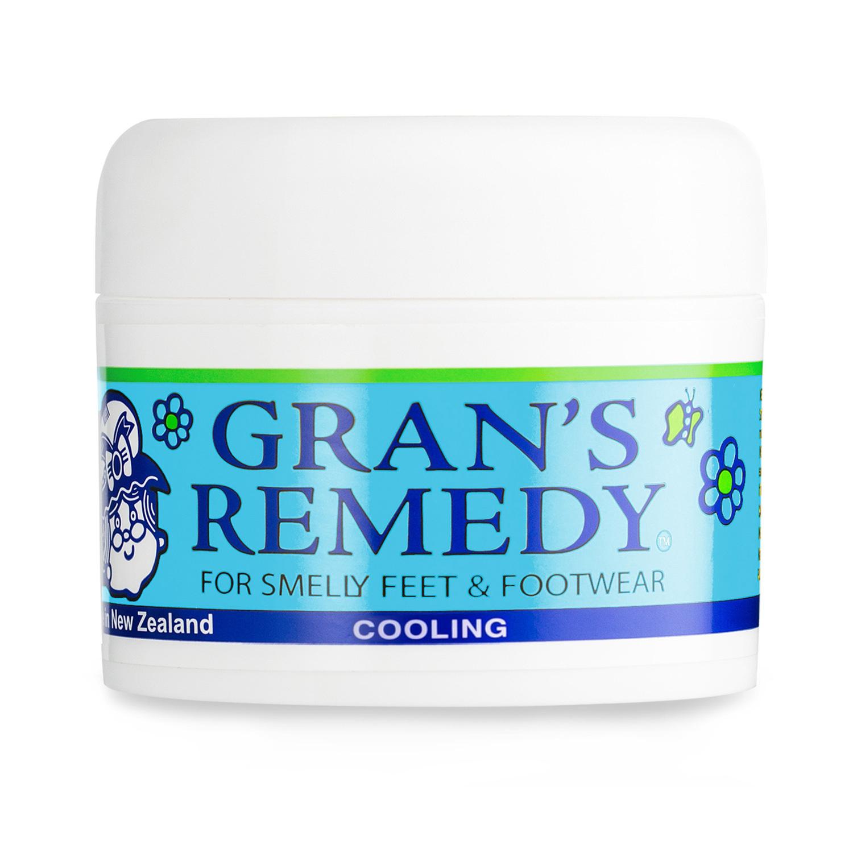 新西兰原产GRAN'S REMEDY 植物鞋粉除臭粉除味粉 薄荷味
