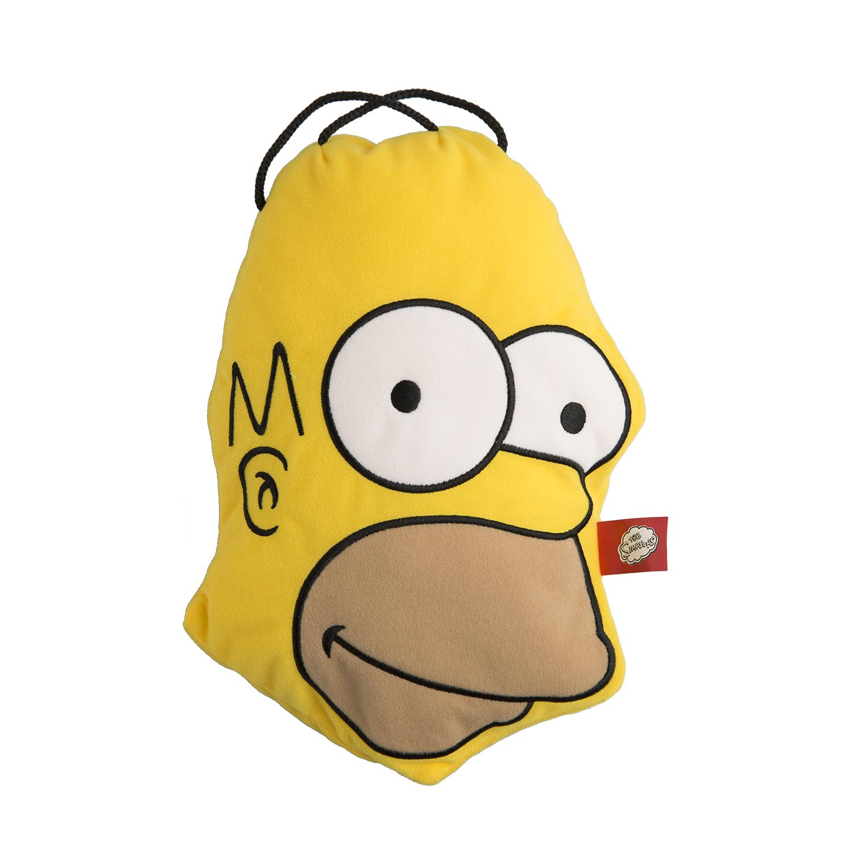 德国fashy霍默·辛普森卡通套儿童热水袋暖水袋 黄色