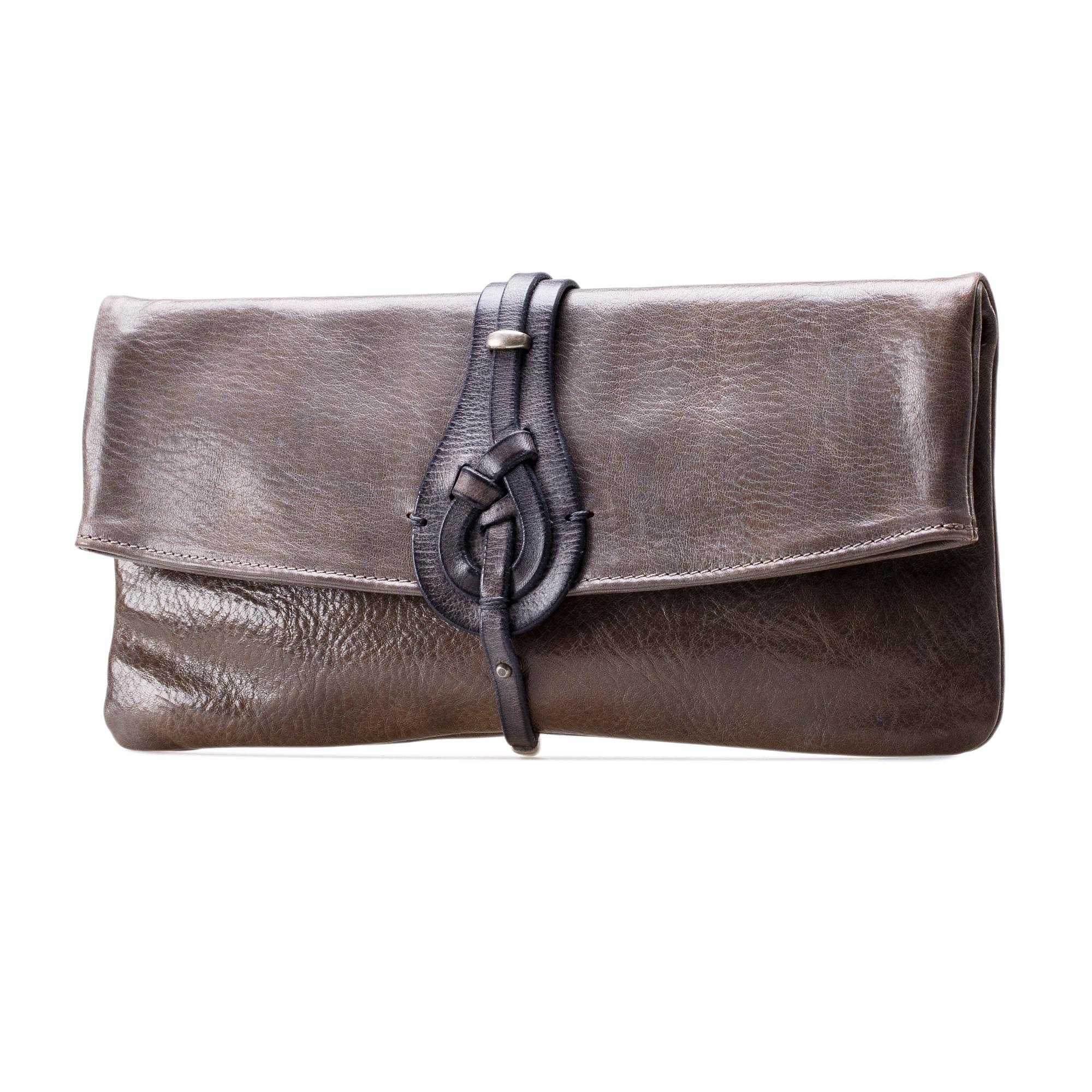 意大利原产Martinica金属背带女包 女式手拿皮包6060-PMT grey