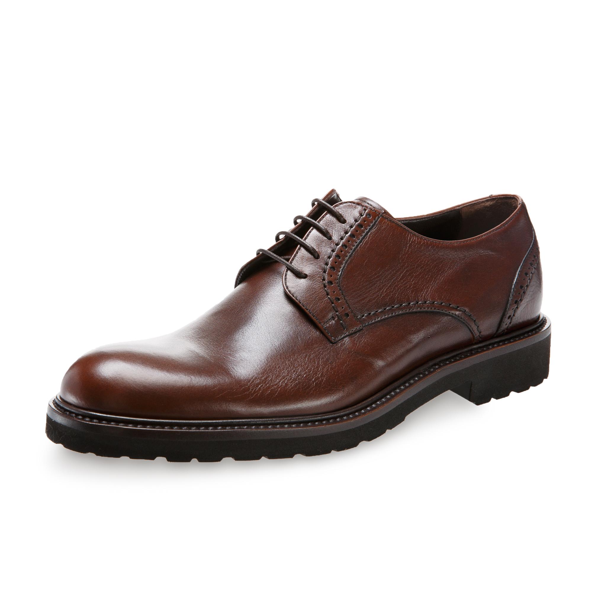 意大利原产germano bellesi圆头牛皮鞋男士皮鞋700 深棕色 41