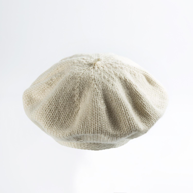 新西兰原产weebits贝雷帽婴儿帽子宝宝帽子 米白 L