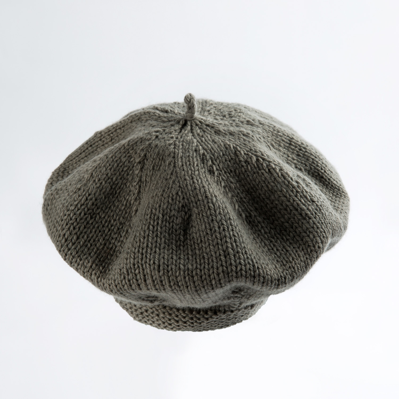 新西兰原产weebits贝雷帽婴儿帽子宝宝帽子 驼色 L