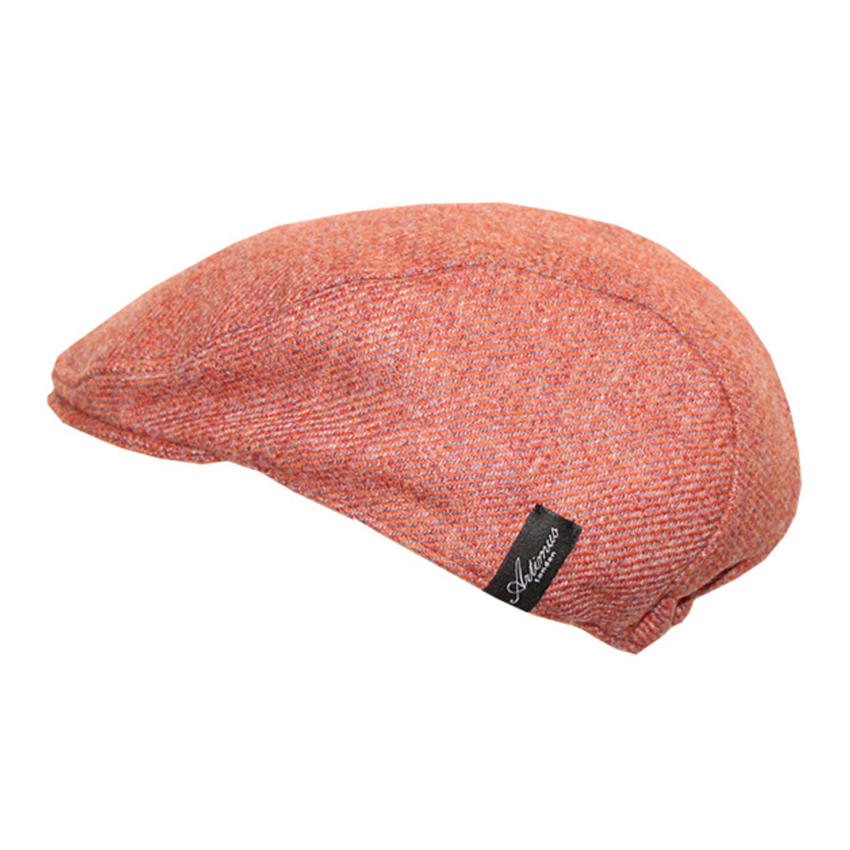 英国原产Artimus LONDON贝雷帽冬帽英伦风宝宝帽子 橙色 M