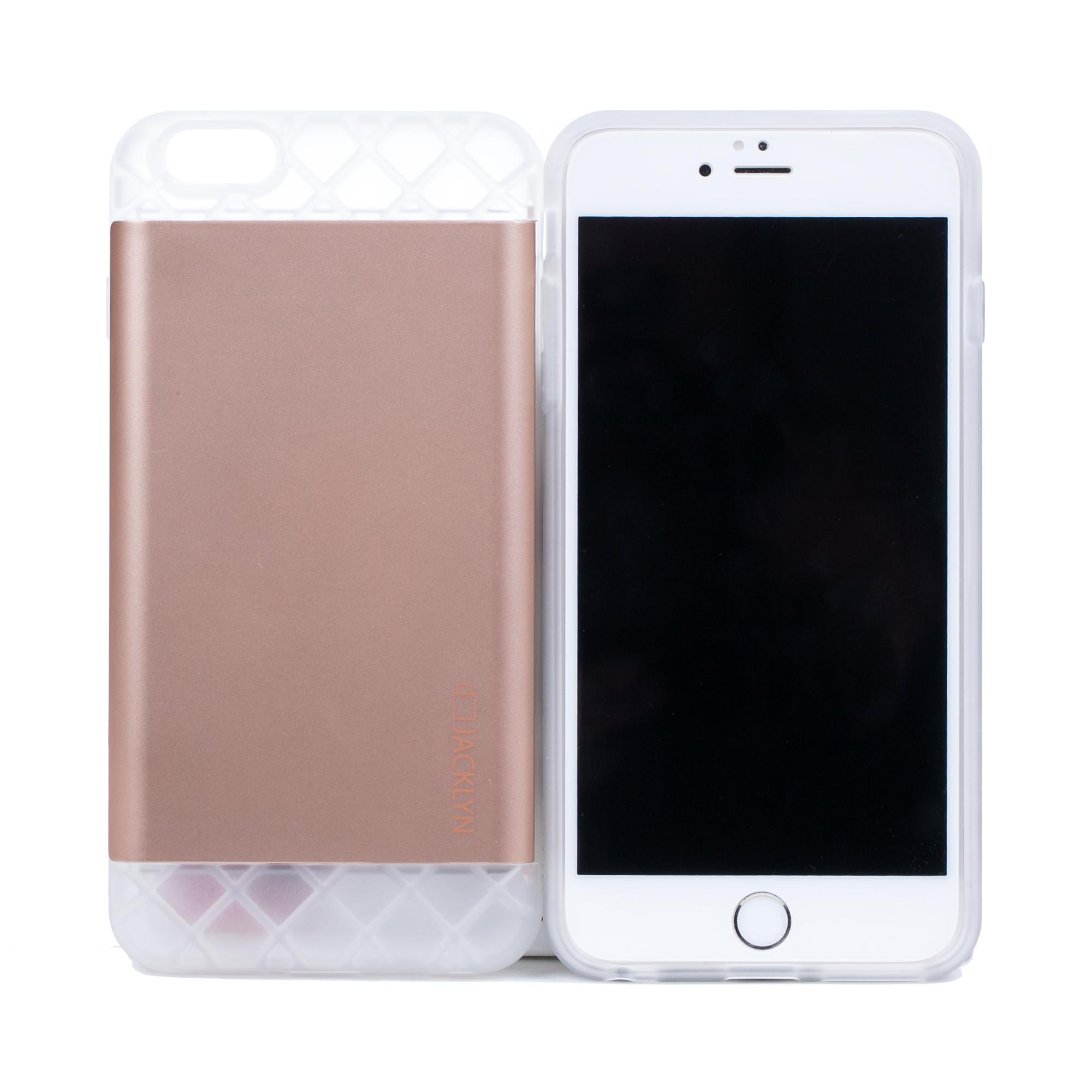 韩国原产JACKLYN苹果6plus手机壳apple手机套 防水耐高温 哑光金色