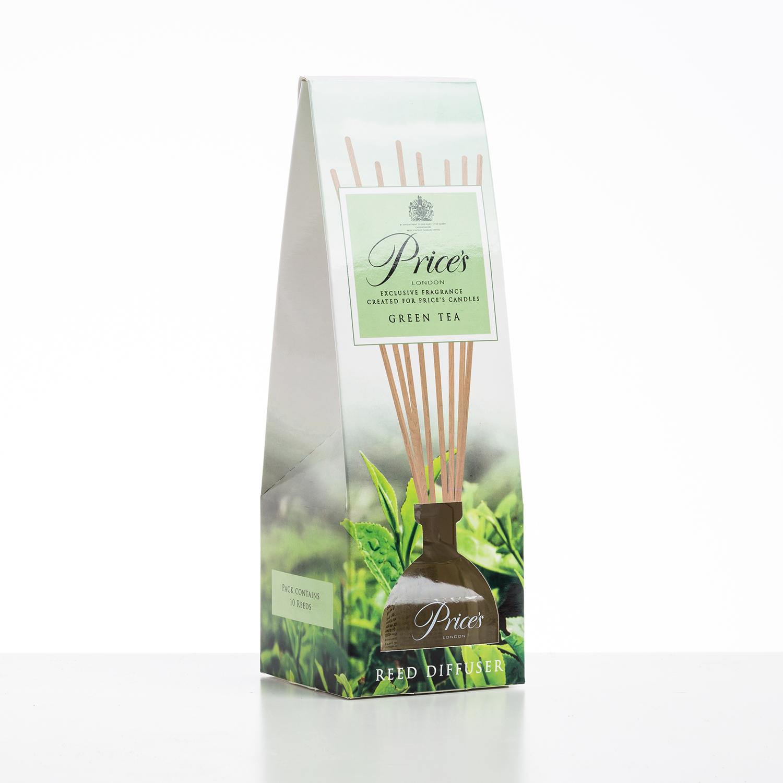 英国原产Price's藤条香薰空气净化香氛 绿茶味