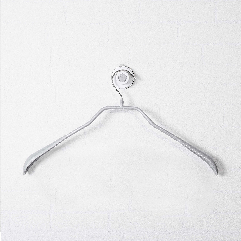 德国原产MAWA不锈钢防滑衣架衣服架衣撑子 1个装 银色