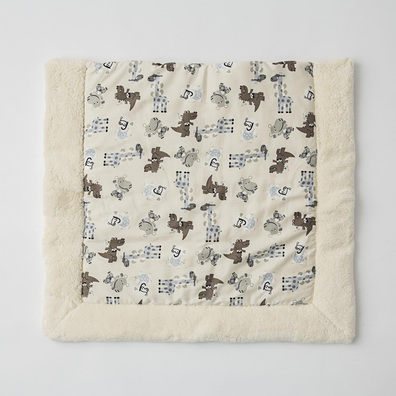 德国原产Mudis有机棉全棉婴儿垫坐垫床垫垫子 咖啡