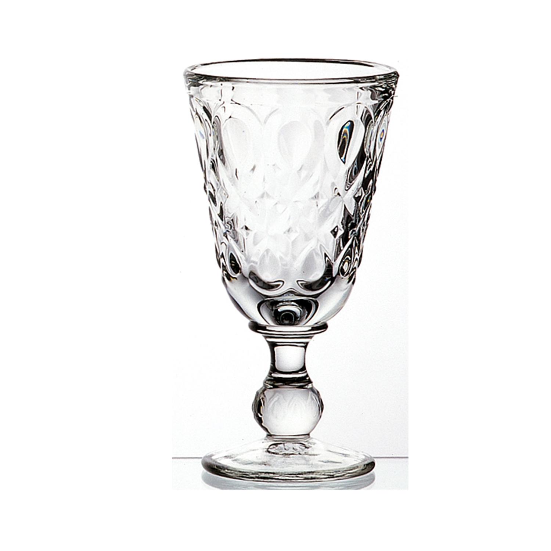 法国原产La Rochère里昂系列高脚杯酒杯玻璃杯 透明